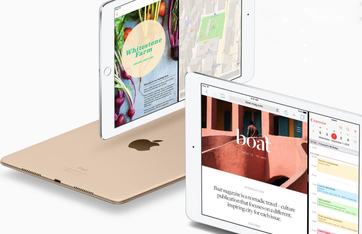Nieuwe iPads