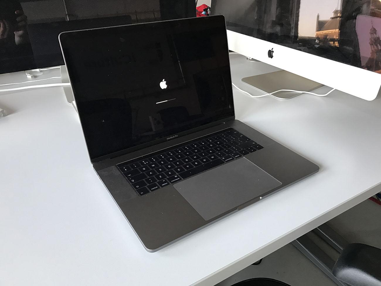 MacBook Pro 2016 review: opstarten van de MacBook