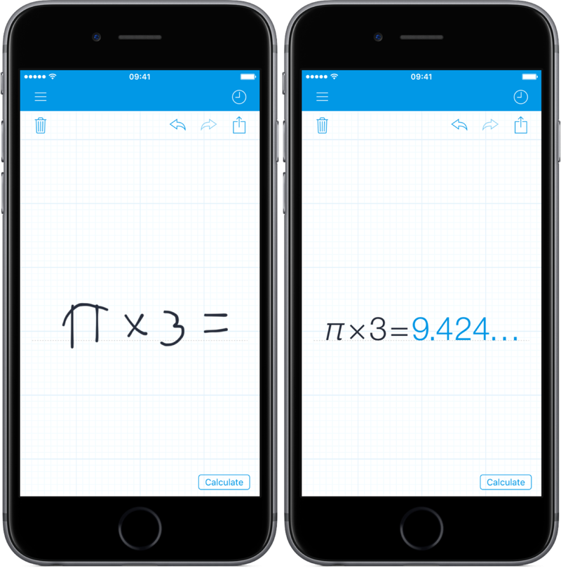 MyScript Calculator.