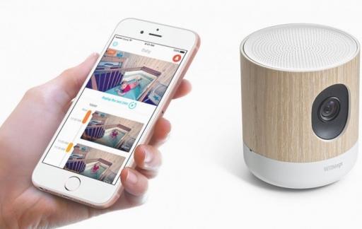 Withings Home Plus camera met iPhone-app