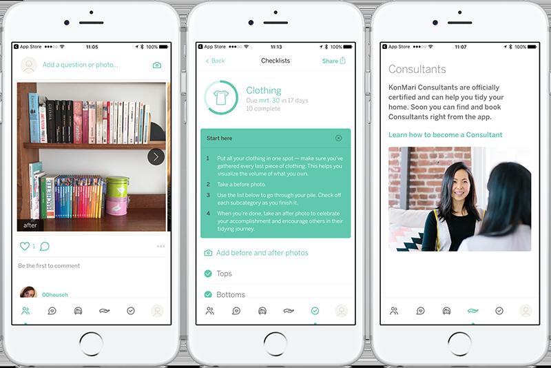 KonMari-app review van Marie Kondo