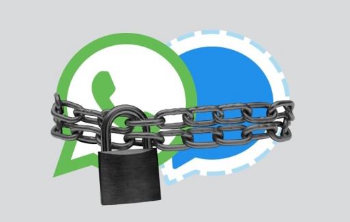 Signal en WhatsApp encryptie