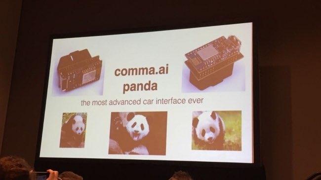 Panda van Geohot