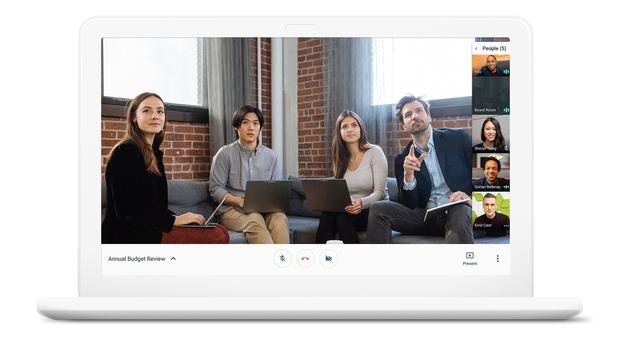 Google Hangouts Chat en Meet