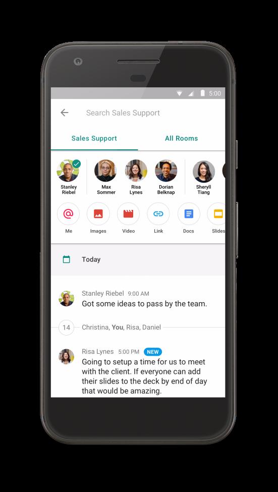 Google Hangouts: Chat voor zakelijke communicatie