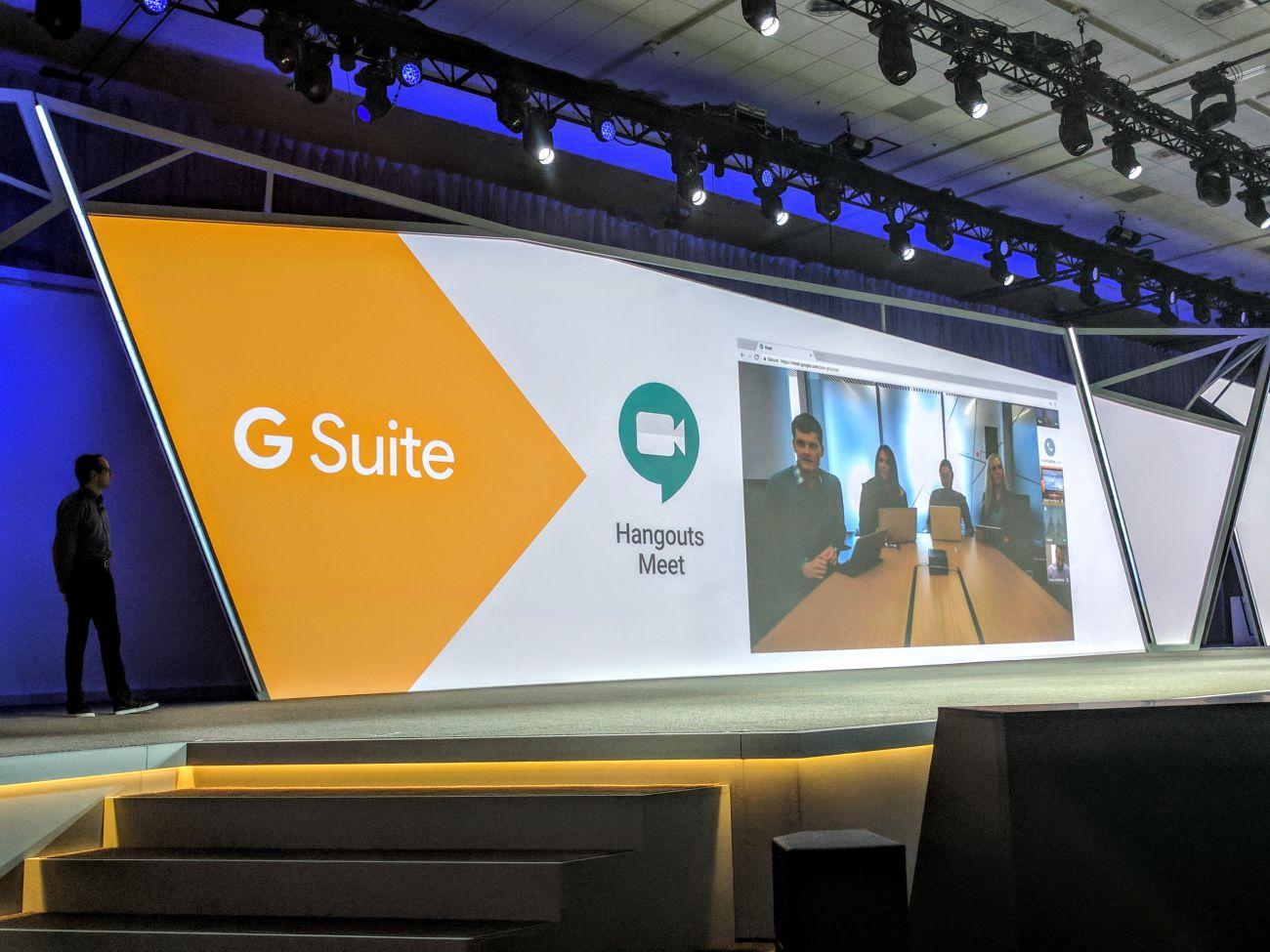 Google introduceert Hangouts Meet