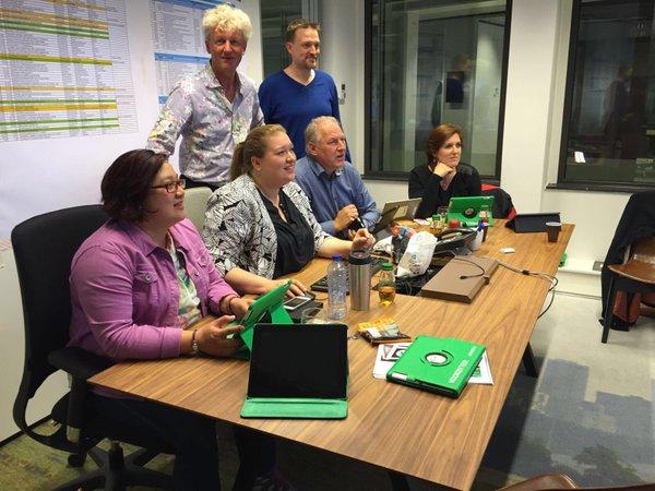 Stembureauapp in Rotterdam