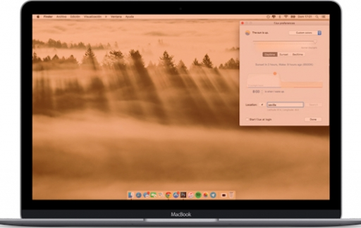 Night Shift voor macOS Sierra