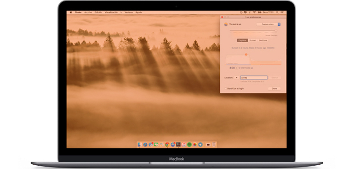 Night Shift voor macOS Sierra