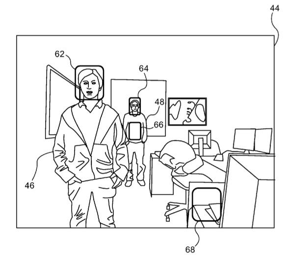 Apple patent met gezichtsherkenning.