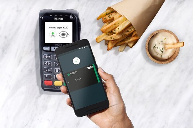 Android Pay in België