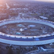 Apple Park drone-video