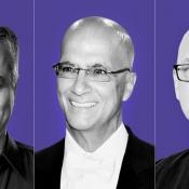 Eddy Cue, Jimmy Iovine en Robert Kondrk