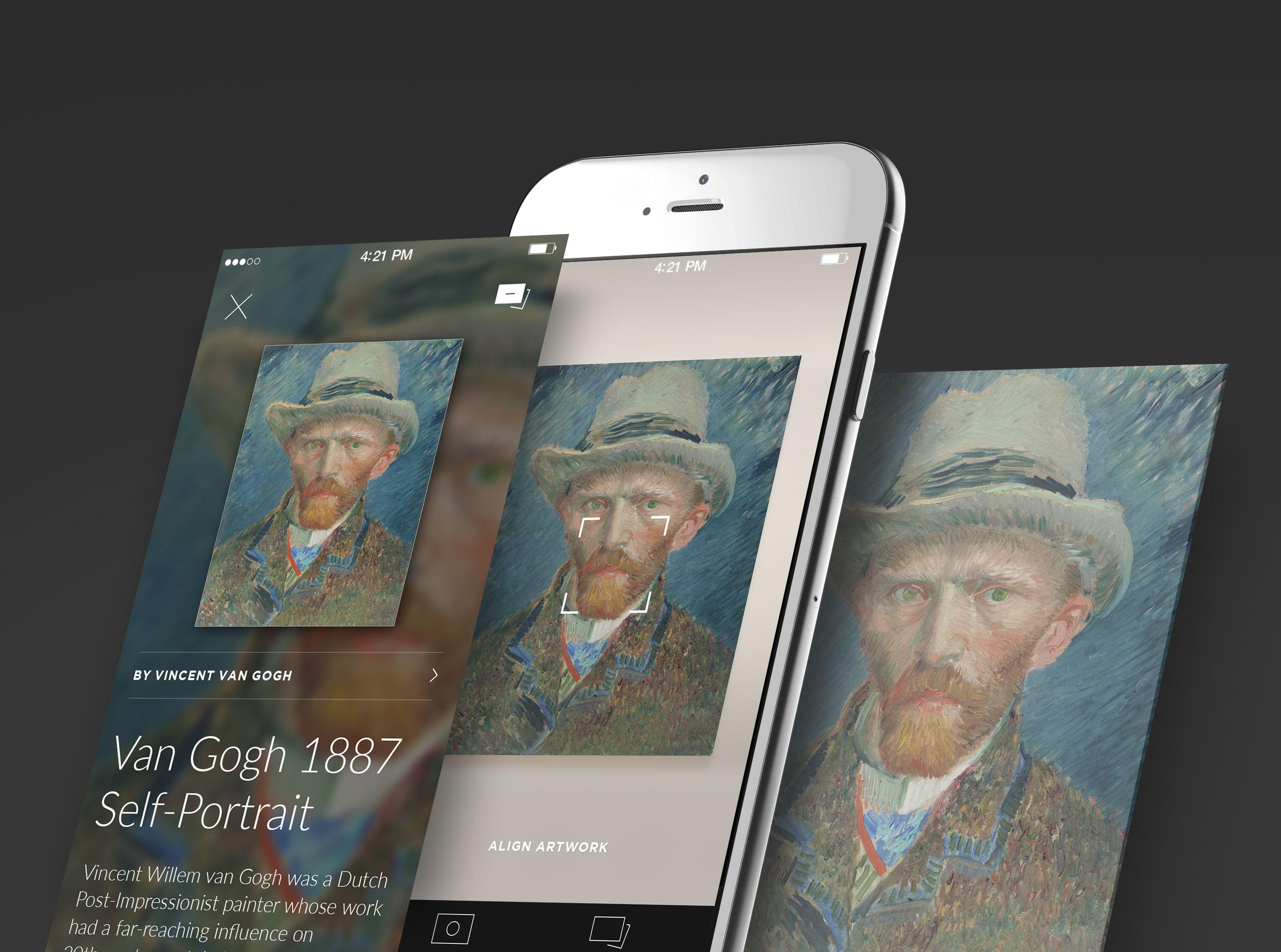 Smartify kunst-app met Van Gogh