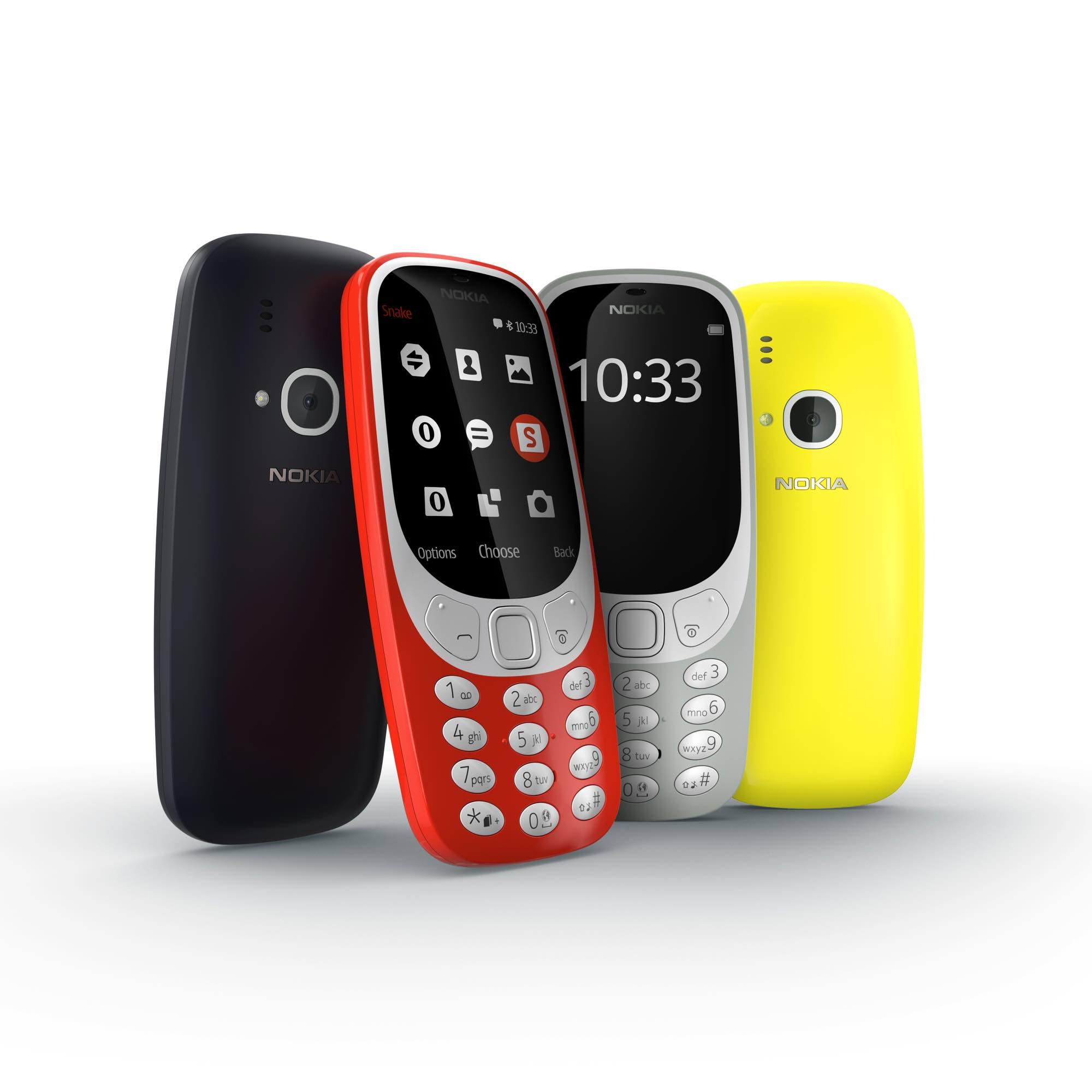 Nokia 3310 kleuren