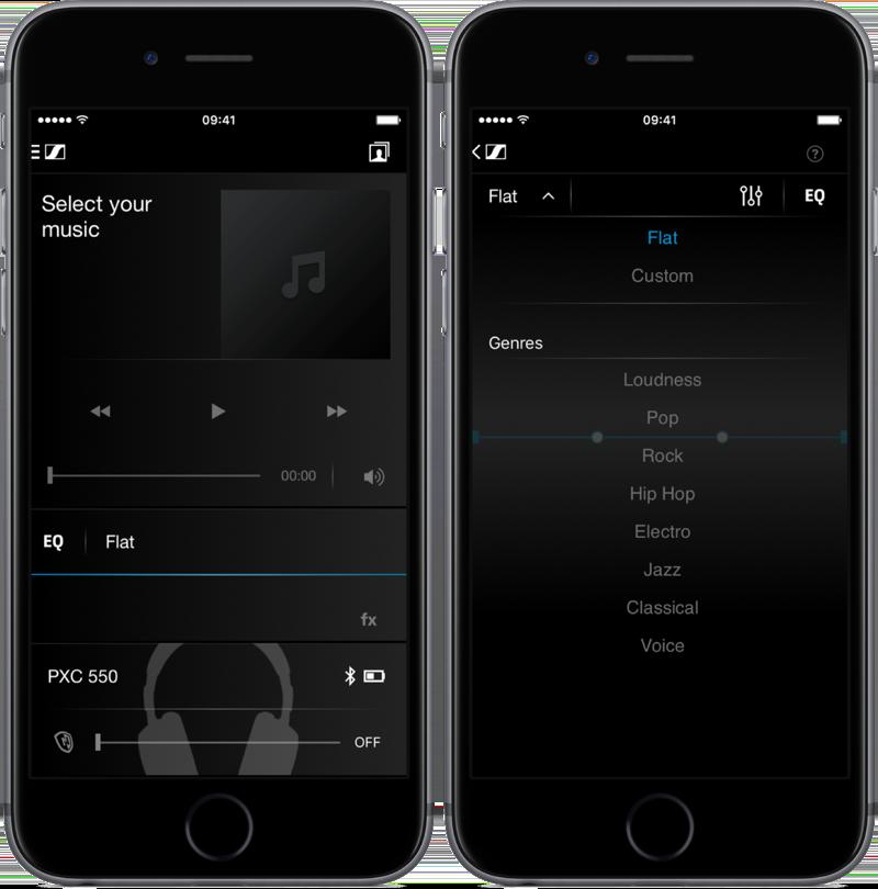 CapTune-app van Sennheiser.