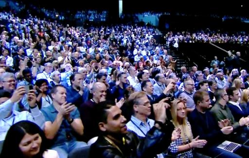 Apple Event met publiek