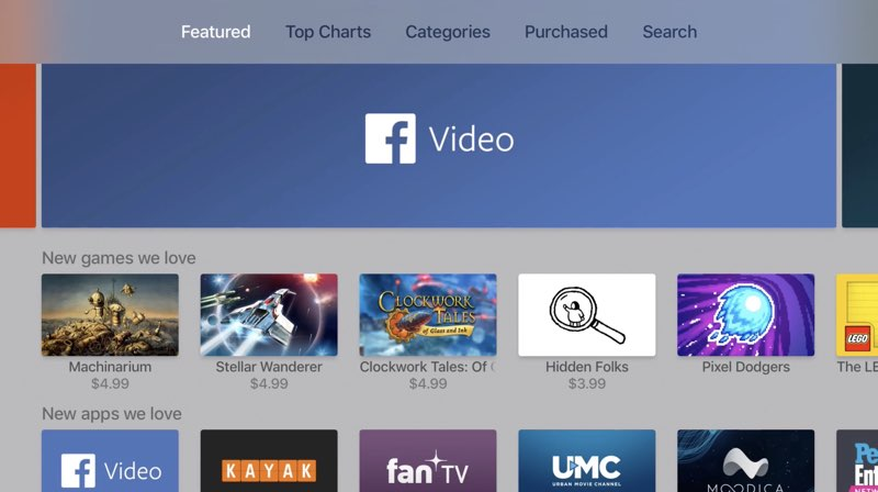 Facebook Video-app