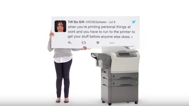 iPad-reclame: printen