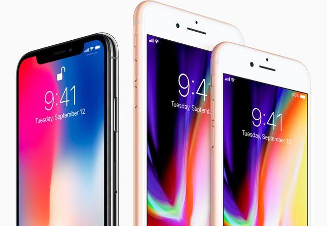 iPhone 8 en X lineup najaar 2017