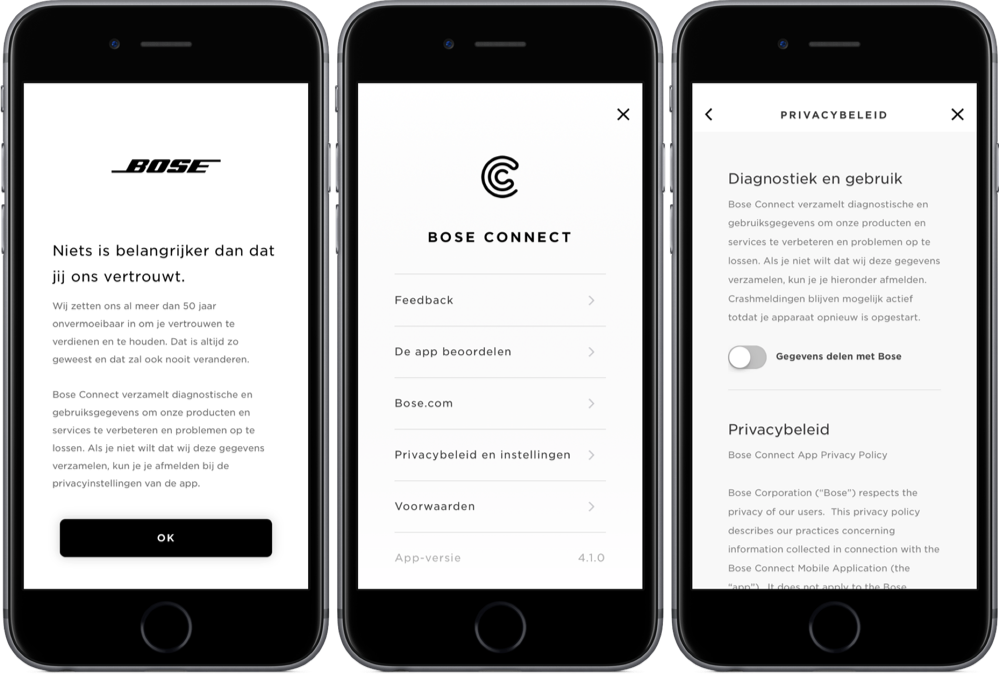 bose connect app