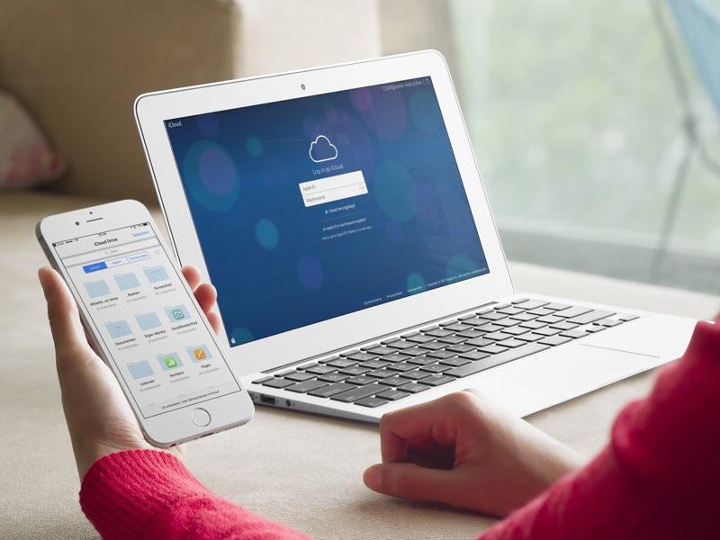 iCloud-interface Mac 2017