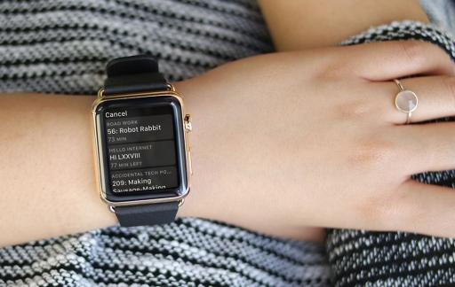 Overcast Apple Watch