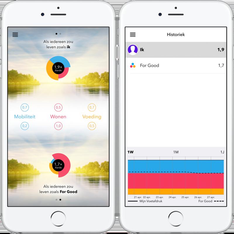 For Good-app op iPhone