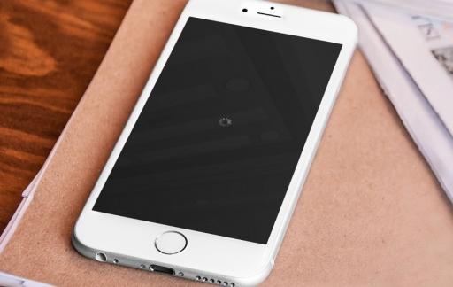 Vastgelopen iPhone start opnieuw op.