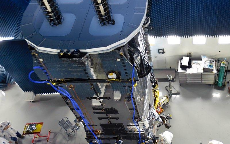 Boeing satelliet-project