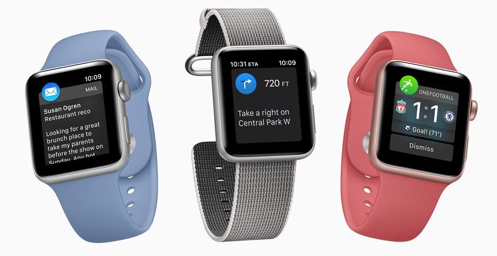 Apple Watch-apps.