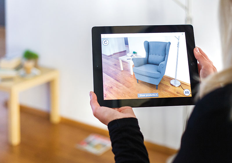 Augmented reality-patent IKEA
