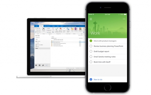 Microsoft To-Do op iPhone