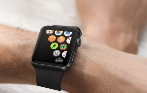 Apple Watch grote iconen