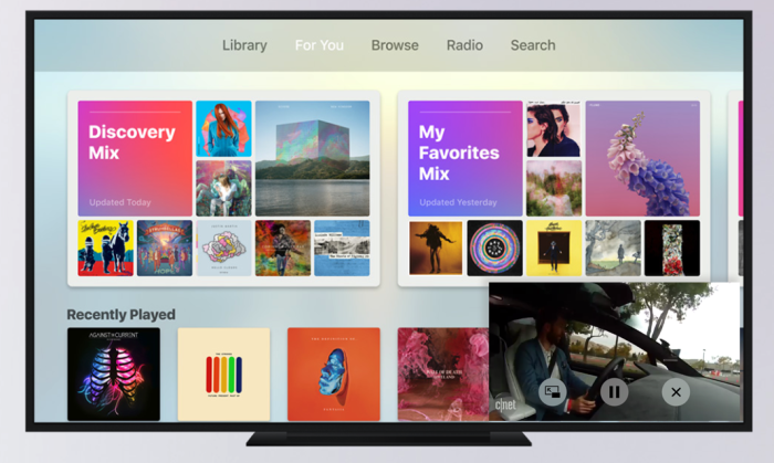 Apple TV Picture in Picture