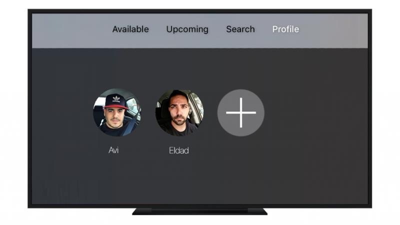 Apple TV gebruikersprofielen