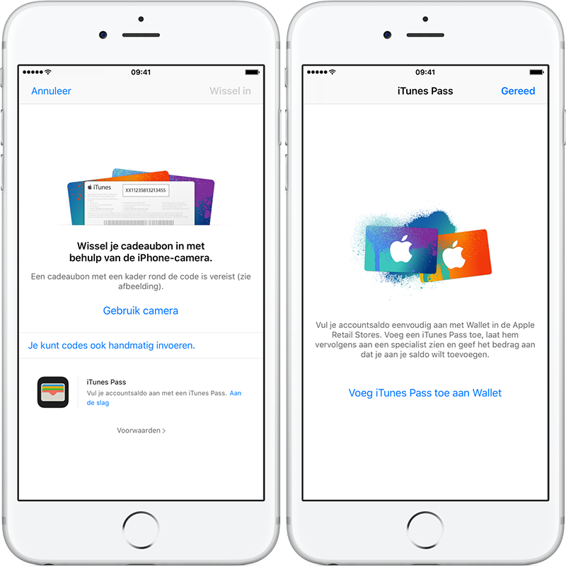 iTunes Pass in Wallet