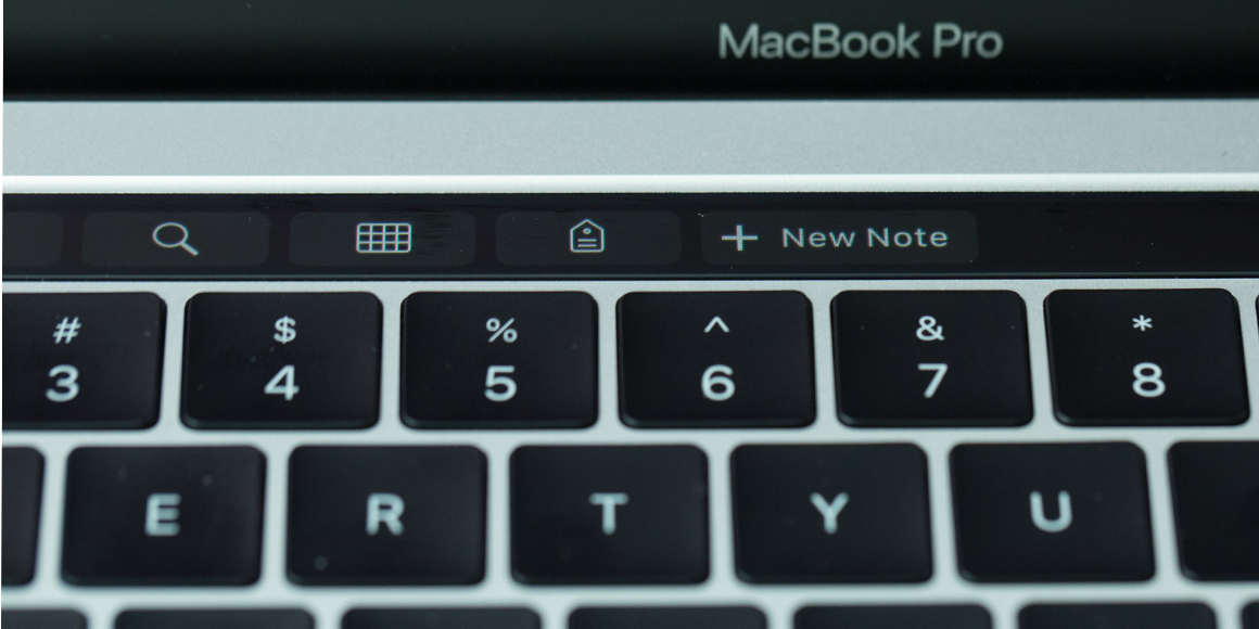 Evernote ondersteunt nu ook Touch Bar