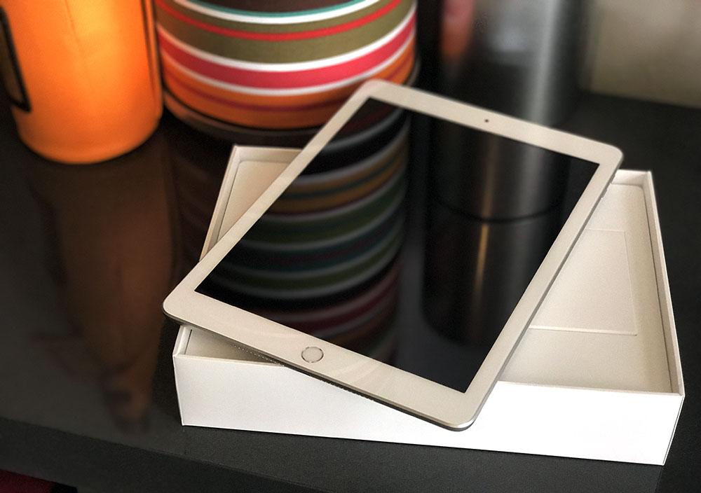 iPad 2017 review: scherm binnenshuis