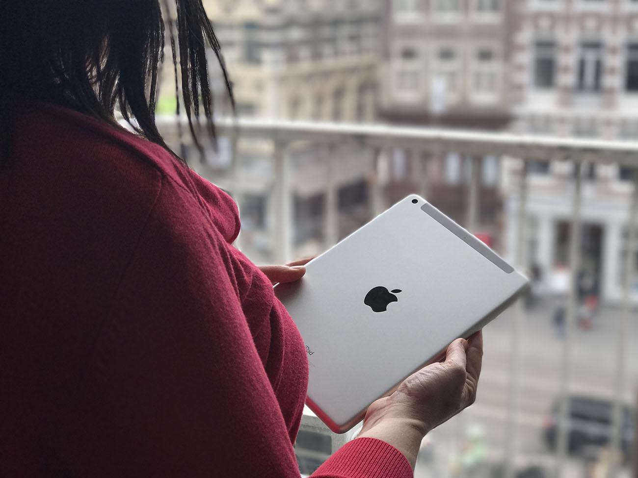 iPad 2017 review: achterkant van de iPad
