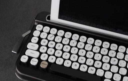 Penna toetsenbord wit-zwart