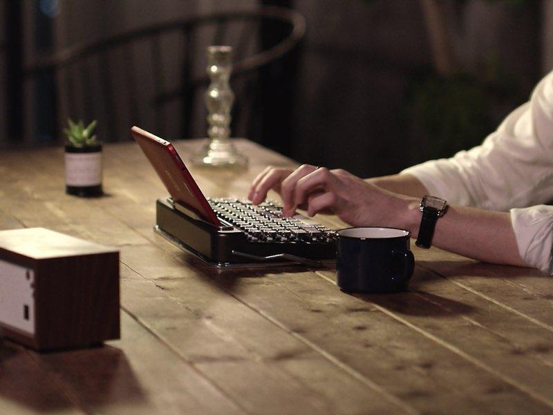 Penna toetsenbord in gebruik