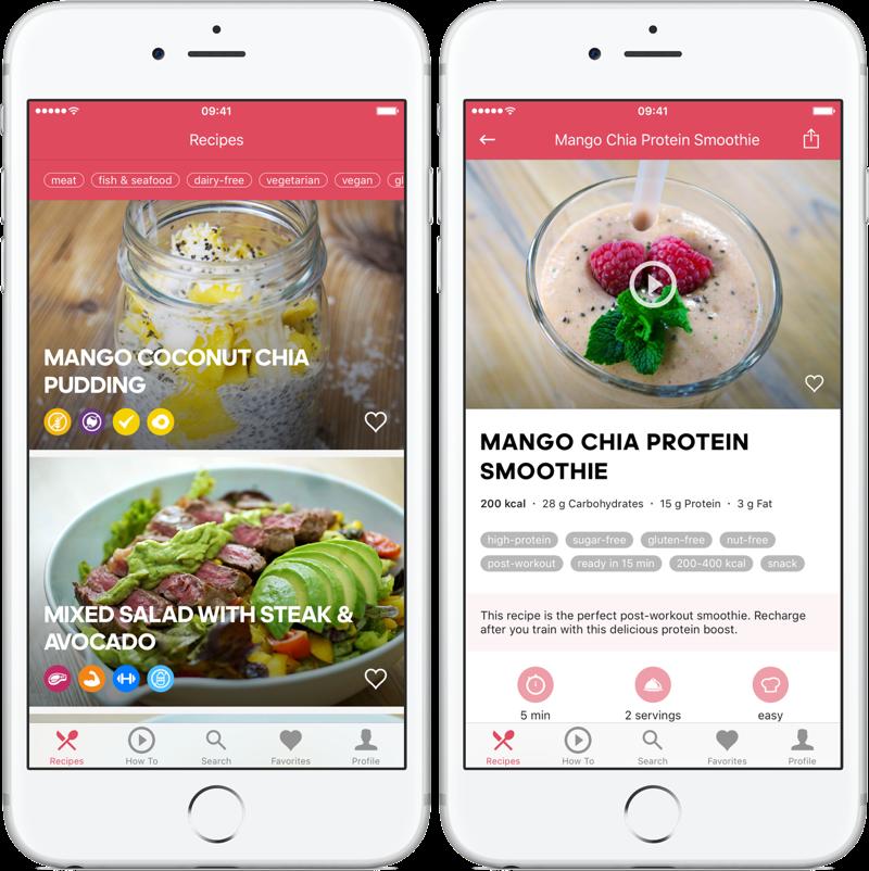 Runtasty recepten-app