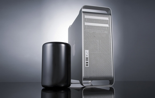 Mac Pro oud en nieuw