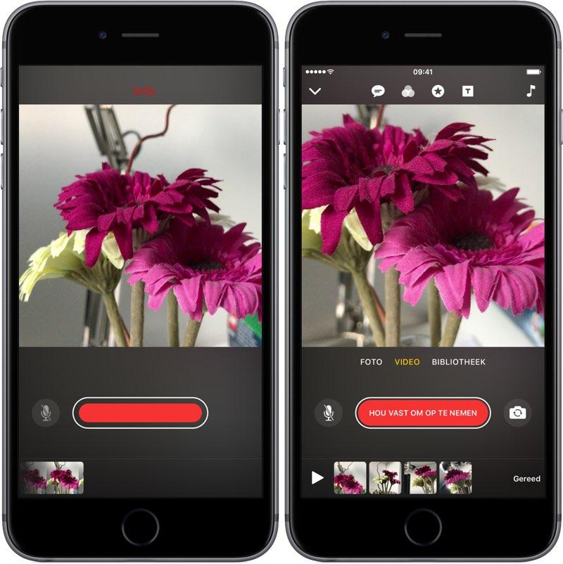 Ciips app video maken