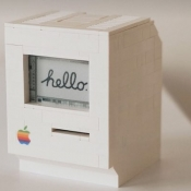 LEGO Macintosh close-up