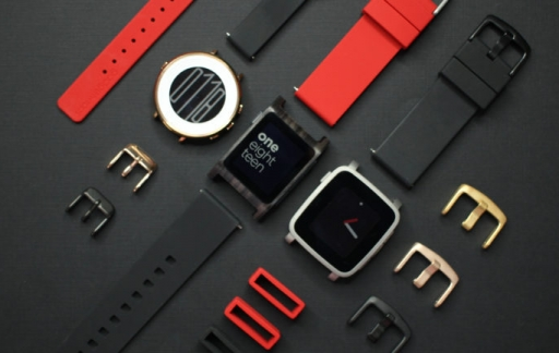 Pebble-smartwatch onderdelen
