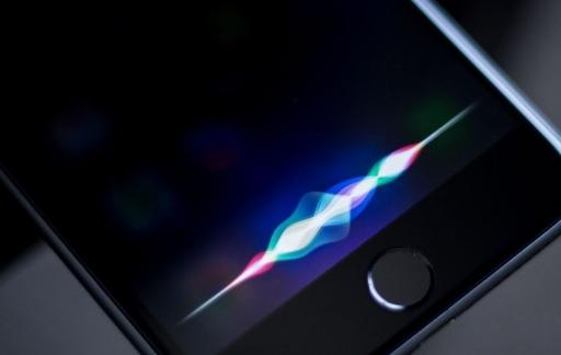 Siri op een iPhone