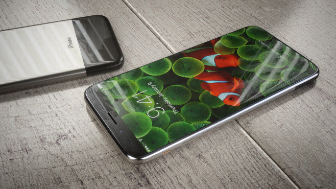 iPhone 8 concept Hajek