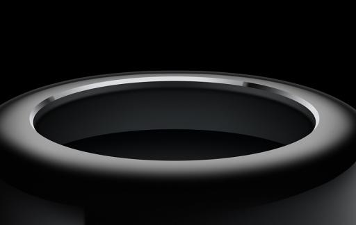 Mac Pro bovenkant
